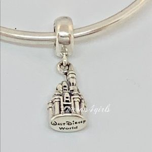Authentic PANDORA Walt Disney Castle